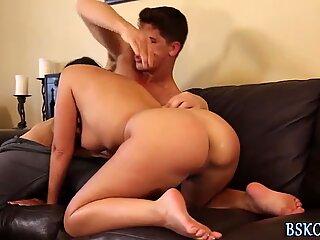 Ava Dalush gets pounded