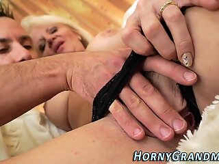 Doggystyle loving granny