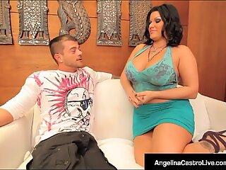 Huge Boobed Cuban Angelina Castro Fucked By Spanish Cock!
