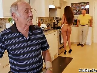 Yaşlı adam porno