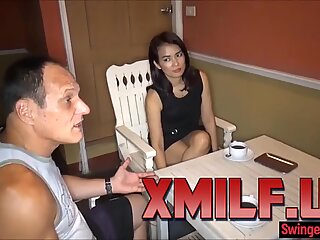 Thai wife photoshoot leads to 3some with photographer by XMILF.US