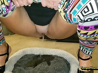 Peeing Housewife Peeing Compilation #2