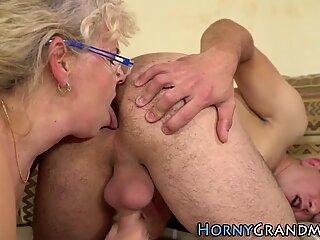 Spex γιαγιούλα στόμα χυμένο