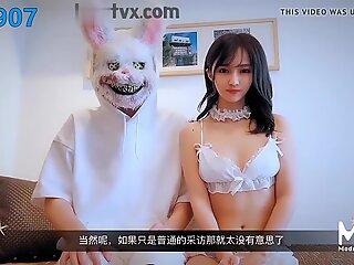 Chinese av originelen madou studio japans av actrice interv