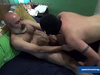 Hairy Daddies Barebacking